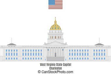 West Virginia State Capitol, Charleston - West Virginia...
