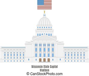 Wisconsin State Capitol, Madison - Wisconsin State Capitol...
