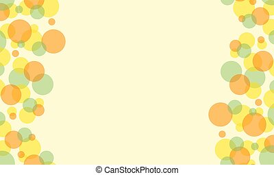 Bubble style abstract background collection