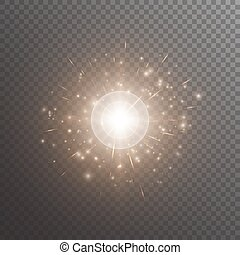 Bokeh background with shine light - Bright background with...