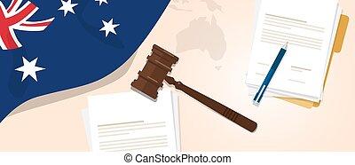 Australia law constitution legal judgment justice...