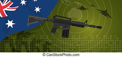 Australia military power army defense industry war and fight...
