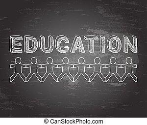 Education People Blackboard