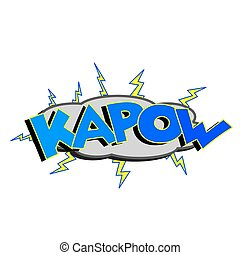 Cartoon Kapow Sound