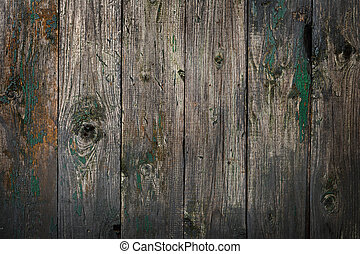 rustic background - Grey old wooden plank, rustic background