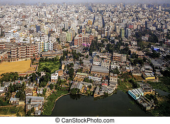 Dhaka, Bangladesh - Area of Dhaka, the Capital of Bangladesh
