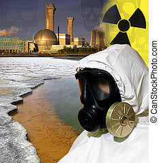 Nuclear Industry - Pollution - Toxic Waste - Industrial...
