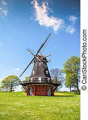 windmill in Kastellet fortress, Copenhagen - Copenhagen,...