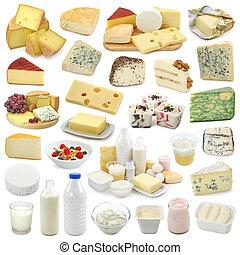 lechería, productos, Colección