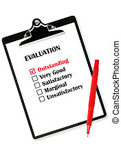Outstanding Evaluation - Outstanding evaluation on...
