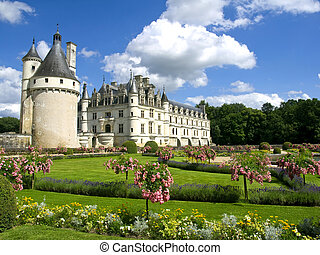 Chenonceaux Castle in Loire Valley