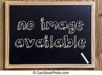no image available - New chalkboard with 3D outlined text -...