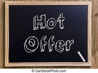 Hot Offer - New chalkboard with 3D outlined text