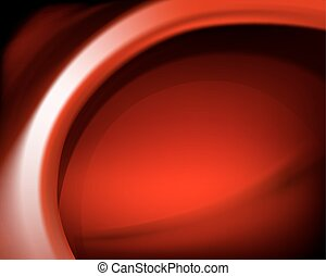 red oval background