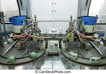 machine for the production of door and window hinge