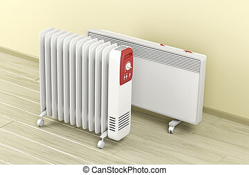 Oil-filled and convection heaters - Electric oil-filled and...