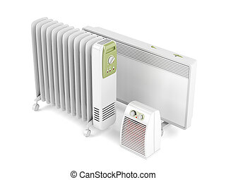 Fan, oil-filled and convection heaters - Fan, oil-filled and...