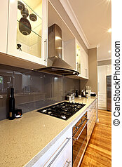 Modern Kitchen - Modern stylish kitchen with granite...