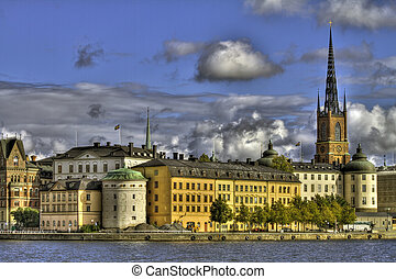 Riddarholmen, Stockholm - Beautiful architecture on the...