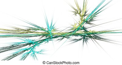 Colored fractal background for texture or big data concept...