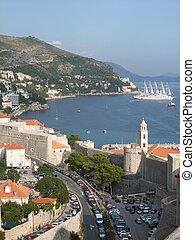 Beautiful view of Dubrovnik, Croatia