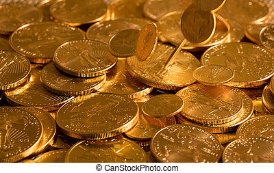 Liberty Gold Eagle one ounce coins - Gold Eagle one ounce...