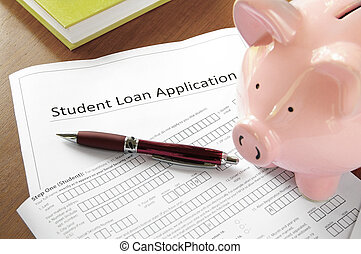 Student loan application form - student loan application...