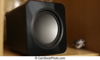 Loudspeaker Playing Music 1 2