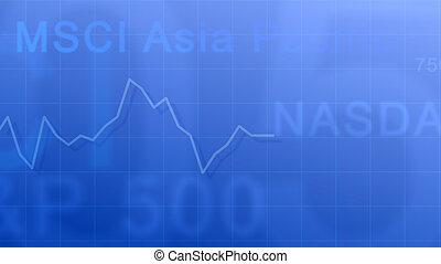 Market indexes #4 - Abstract background - the abbreviation...