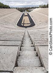 Panathenaic stadium or kallimarmaro in Athens, Attica,...