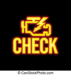 Check Engine Signal