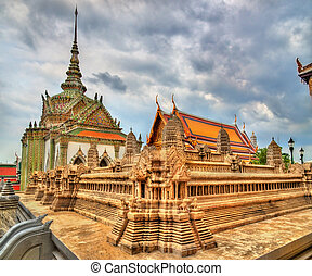 Wat Phra Kaew Ancient, temple of the Emerald Buddha in...