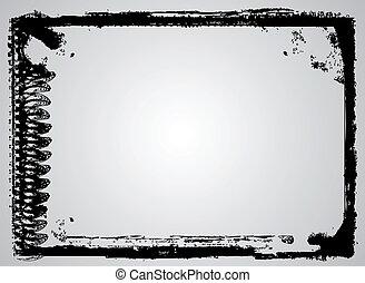 Grunge Vector Frame - Highly detailed grunge Vector frame...