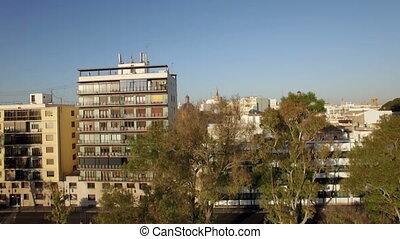 Valencia panorama, aerial view - Aerial panorama of Valencia...
