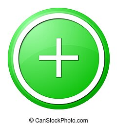 green plus button