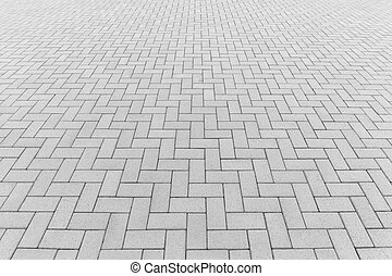 Paver block floor background - Concrete paver block floor...