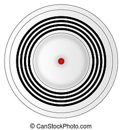 illustration of smoke detector