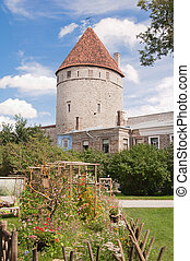 Tallinn Towers in a fortification