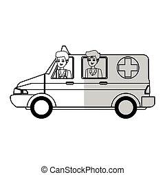 medical ambulance icon