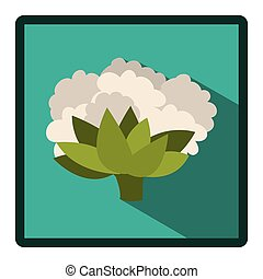 symbol cauliflower icon image, vector illustraction design...