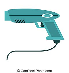 weapon virtual reality game vector illustration eps 10