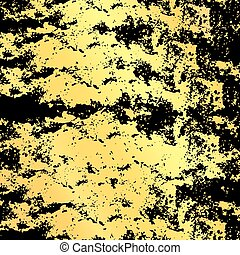 Gold brown vector background, gold center and brown vignette...