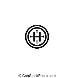 Hermetic package symbol on white background