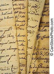 Pile of  manuscripts