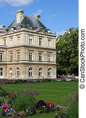Paris - Palais du Luxembourg which is the seat of French...