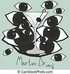 Martini Drunk