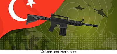 Turkey military power army defense industry war and fight...