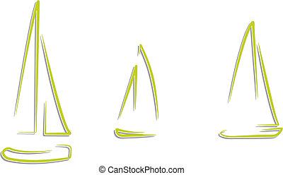 auto, barca, da corsa