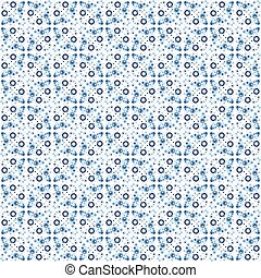 Abstract seamless pattern in Moroccan style - Portuguese...