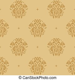 Background victorian regal. Pattern in style baroque with...